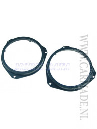 Luidspreker adapter ring voor Opel, Fiat, Citroen (set)