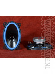Set autospeakers 80W 150 x 94 mm dual cone