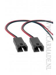 Speaker Adapter Kabel (Set van 2) Peugeot, Lancia, Fiat