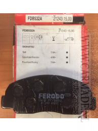 Remblokken Daihatsu Taft Feroza Rocky Mazda B-serie