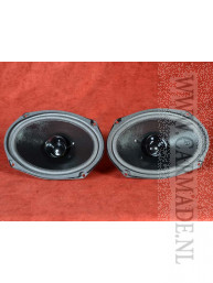 Autospeakerset 80W 150 x 230 mm dual cone