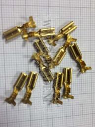 Luidspreker kabelschoen 2.8 mm per 10 stuks