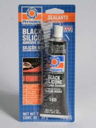 Permatex siliconen pakking zwart